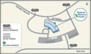 Madison Women's Health Office Location Map