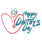 Happy Doctor's Day graphic